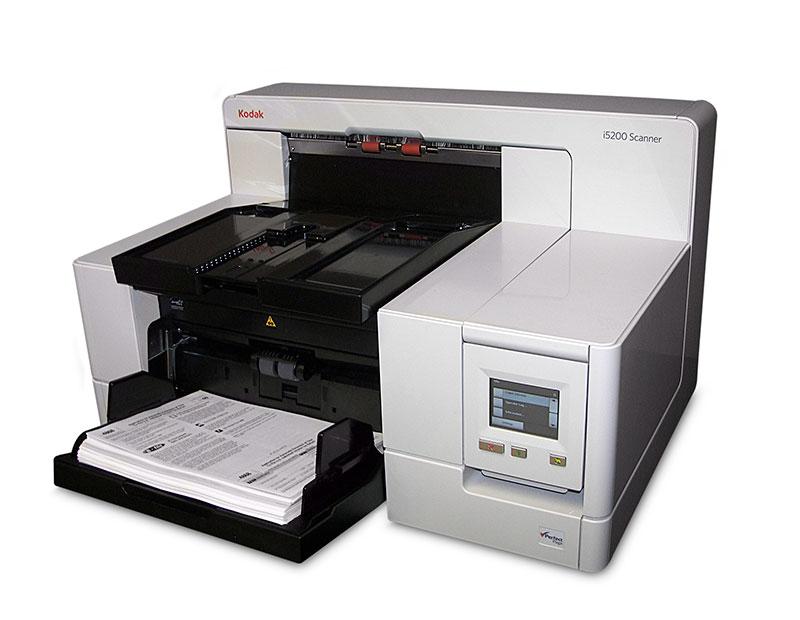 Foto Produto Scanner Kodak i5200, 140ppm, Duplex (Frente e Verso)