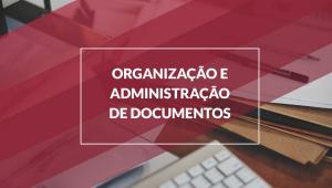organização e administração de documentos