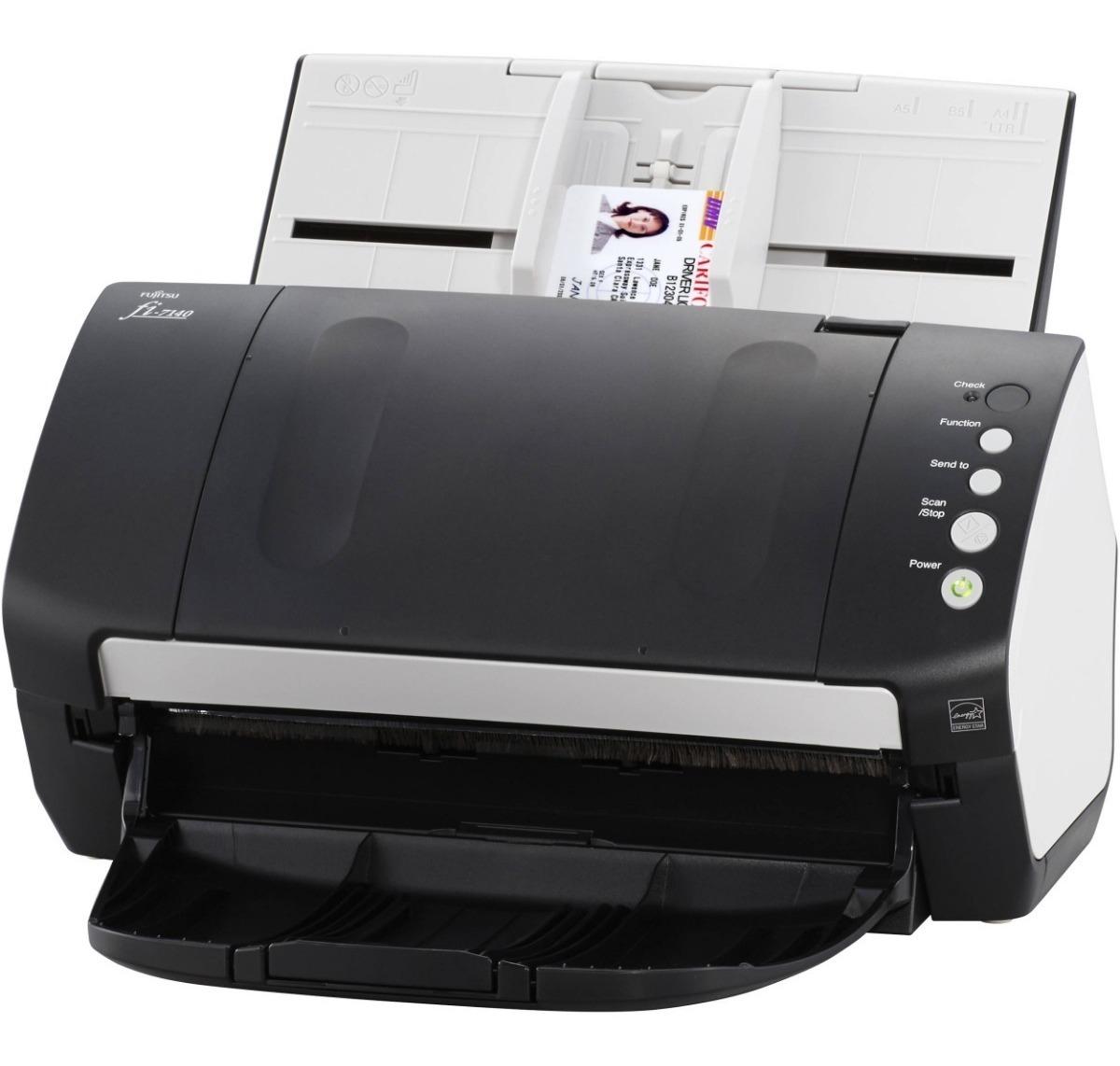 Foto Produto Scanner Fujitsu Fi-7140, 40ppm, Duplex (Frente e Verso)