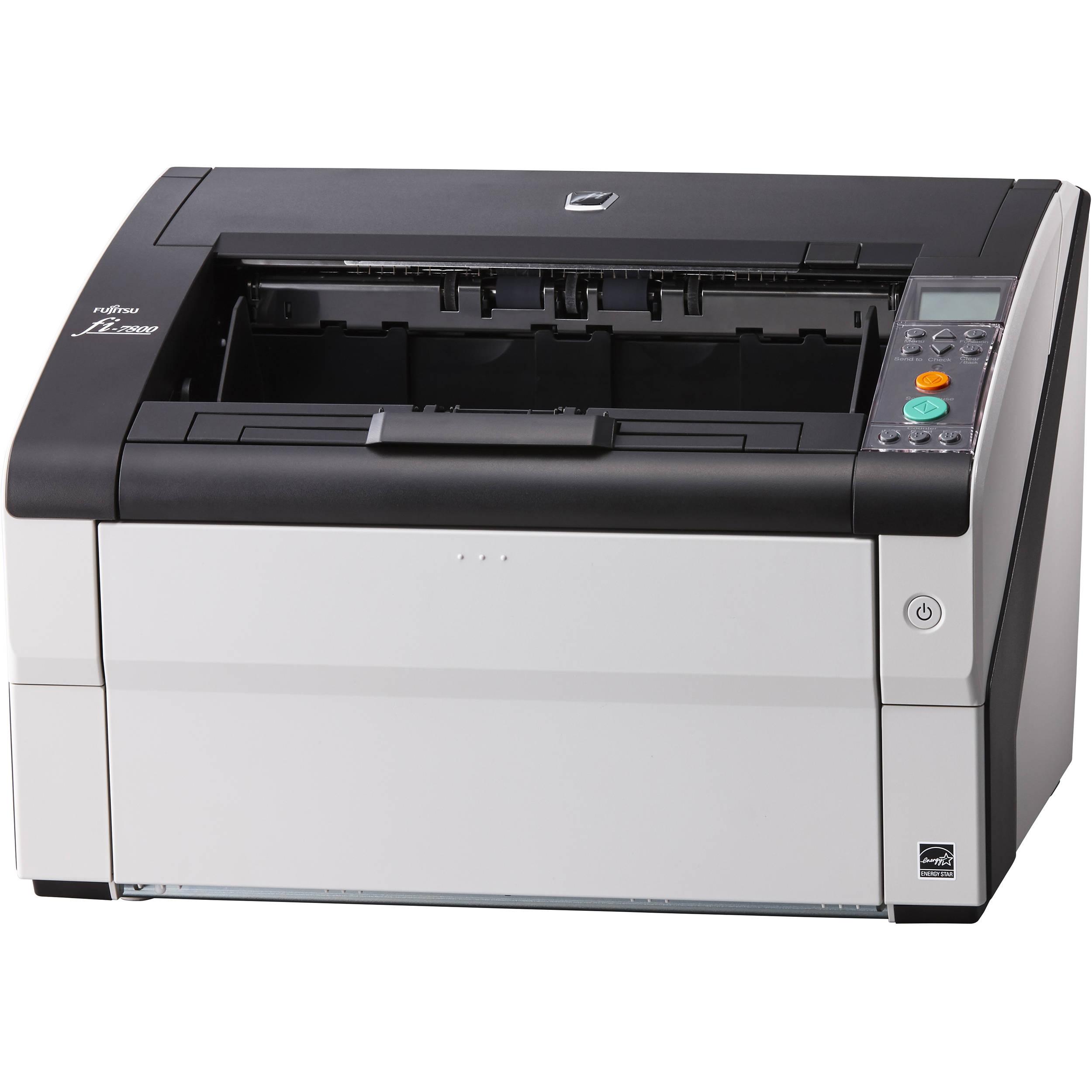 Foto Produto Scanner Fujitsu Fi-7800, 110ppm, Duplex (Frente e Verso)