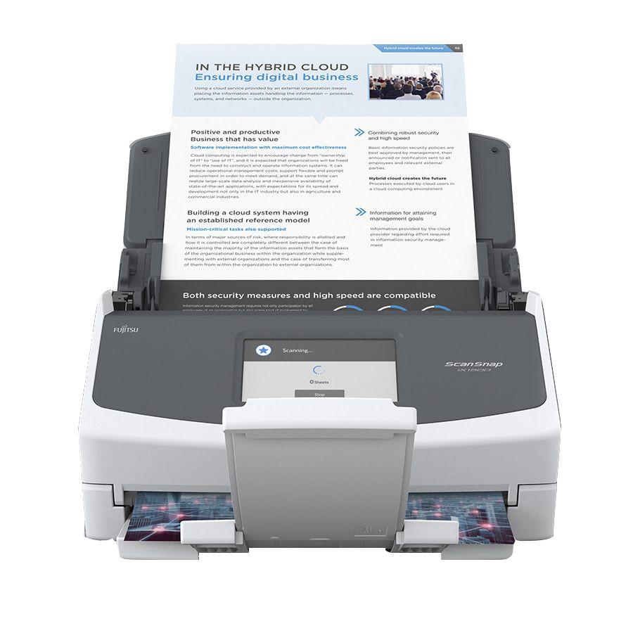 Foto Produto Scanner Fujitsu iX1500, 30ppm, Duplex (Frente e Verso)
