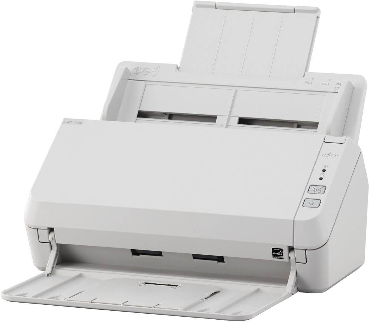 Foto Produto Scanner Fujitsu SP-1120, 20ppm, Duplex (Frente e Verso)